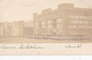 RP: Main Street , Seaton Hardware store , MACOUN , Saskatchewan , Canada , 00-10