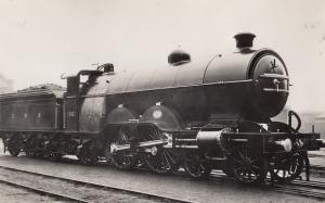 LNWR 4-6-2T Water Railway Class No 1186 Bowen Cooke Train Photo
