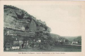 LES EYZIES, Pergueux, Dordogne, France; Capitale Prehistorique, Les Grands Ro...