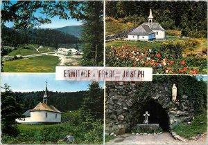 Postcard Old Hermitage Frere Joseph Ventron Vosges Hotel Leduc La Chapelle Cave