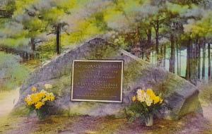 New Hampshire Rindge Cathedral Of The Pines The Memorial Boulder