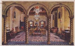 Iowa Des Moines Younker Brothers Department Store Tea Room Lounge 1939
