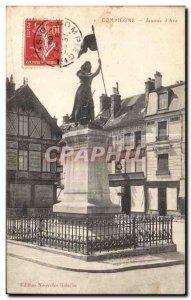 Old Postcard Compiegne Jeanne d Arc
