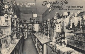 WOBURN , Massachusetts, 1900-10s; Fireside Gift Shoppe, 438 Main Street