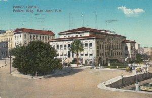 SAN JUAN , Puerto Rico, 1908 ; Federal Building