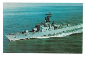 US Navy USS Talbot DEG-4 Comm 1967 Guided Missile Naval Escort Ship Post