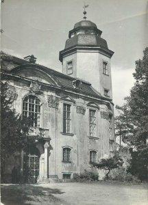 Postcard Poland Ksiaz castle gate