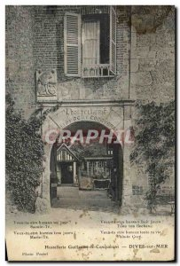 Old Postcard Dives sur Mer The Hostellerie William the Conqueror