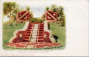 Gates Ajar Como Park St. Paul MN Minnesota c1906 Postcard F14