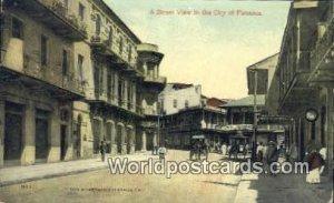 A Street City of Panama Republic of Panama Unused