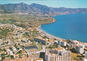 Spain Costa Del Sol Nerja Aerial View