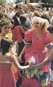 Festival mondial de folklore de DRUMMONDVILLE , Quebec , Canada , 50-60s #13