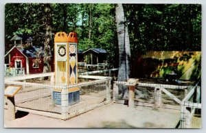 Coloma Michigan~Paw Paw Lake~Deer Forest Animal Farm~HIckory Dickory Dock~1957
