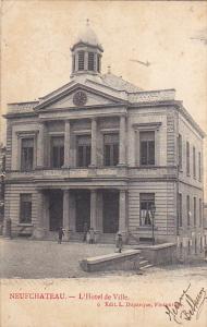 Belgium Neufchateau L'Hotel de Ville 1910