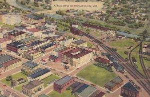 POPLAR BLUFF, Missouri, 1947; Aerial View of City