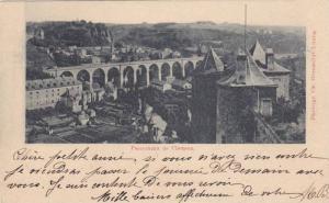 Panorama de Clausen , Luxembourg. 1890s