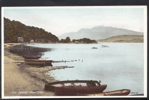 Scotland Postcard - Ben Lomond From Luss    BH6484
