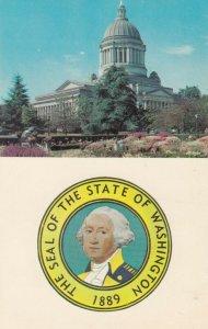 State Seal , Washington , 50-60s