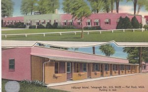 Michigan Flat Rock Hillcrest Motel sk4969