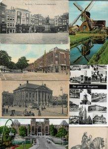Netherlands Dordrecht Amsterdam Deurne and More Postcard Lot of 54  01.09
