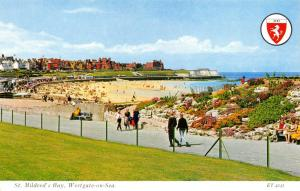 Vintage Postcard St. Mildred's Bay, Westgate On Sea, Kent by Elgate Products L93