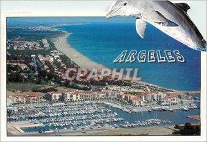 Modern Postcard La Cote Vermeille Argeles Plage Pyrenees Orientales Dauphin