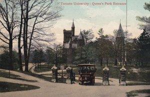TORONTO, Ontario, Canada, PU-1909; Toronto University, Queen's Park Entrance