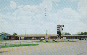 Texas Albany Hereford Motel 1959