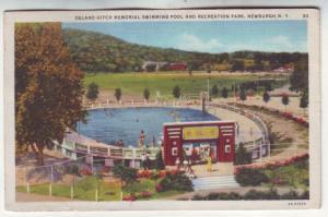 P536 JLs 1935 delano hitch memorial swimming pool newburg new york