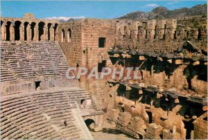 Postcard Modern Aspendos