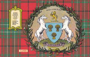 Tarton & Clan Coat of Arms , SCOTLAND , 00-10s ; Clan Cumin