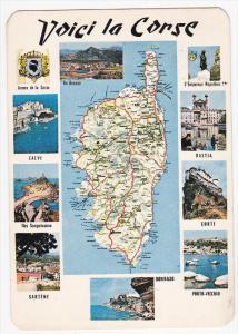 FRANCE, PU-1986; Multiple Views of Haute Corse, Calvi, Iles Sanguinaires, Sar...