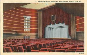 Linen of The Music Hall Municipal Auditorium Kansas City MO