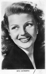 Rita Hayworth American Actress Film Star Postcard