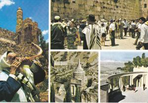 5-view postcard ,  ISRAEL, 50-70s