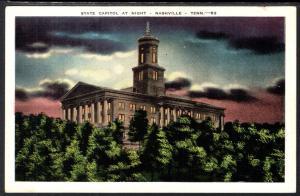State Capitol at Night,Nashville,TN BIN