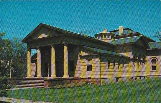 Rhode Island Newport The Redwood Library Hippostcard