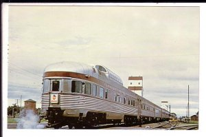 Canadian Pacific Passenger Railway Train,  Portage La Prarie,  Manitoba