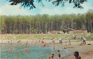 Bathing Beach Ricketts Glen State Park PA Pennsylvania