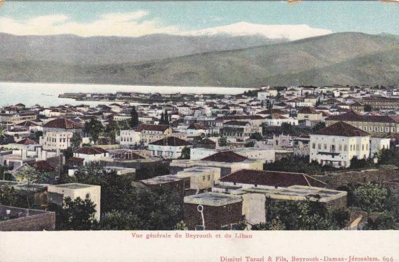 Panorama view, Beyrouth , Lebanon , 00-10s