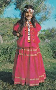 Little Miss Apache , San Carlos Reservation , Arizona , 50-60s