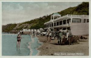 mozambique, LOURENÇO MARQUES, Polona Beach, Bathing Suit (1930s) Postcard