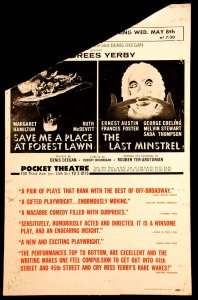 Save Me a Place at Forest Lawn The Last Minstrel
