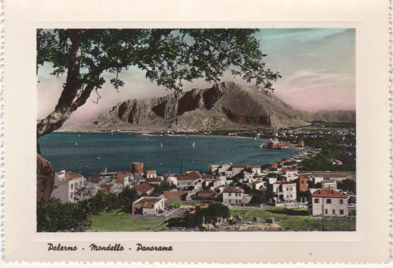 Post Card  Italy Sicily PALERMO - Mondello - L'Abside