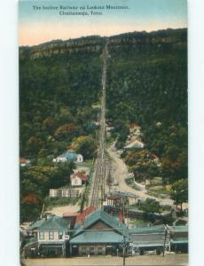 Unused Divided-Back WIDE VIEW OF INCLINE RAILWAY Chattanooga Tennessee TN E8470
