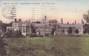 Missouri Saint Louis John F Lee Hall Washington University 1940