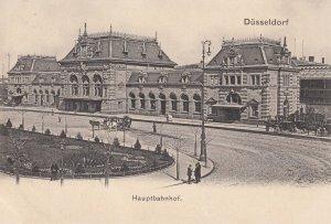 DUSSELDORF , Germany , 1900-07 ; Hauptbahnhof