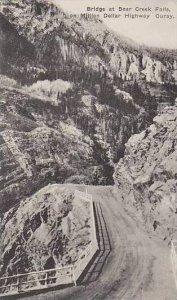 Colorado Ouray Bridge At Bear Creek Falls On Million Dollar Highway Albertype