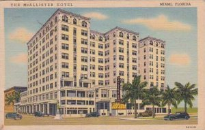 Florida Miami The Mcallister Hotel 1944