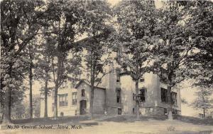 A56/ Ionia Michigan Mi Postcard 1916 No 10 Central School Building